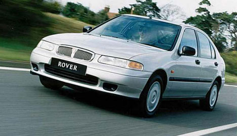 Фото Rover 400 Hatchback (RT)